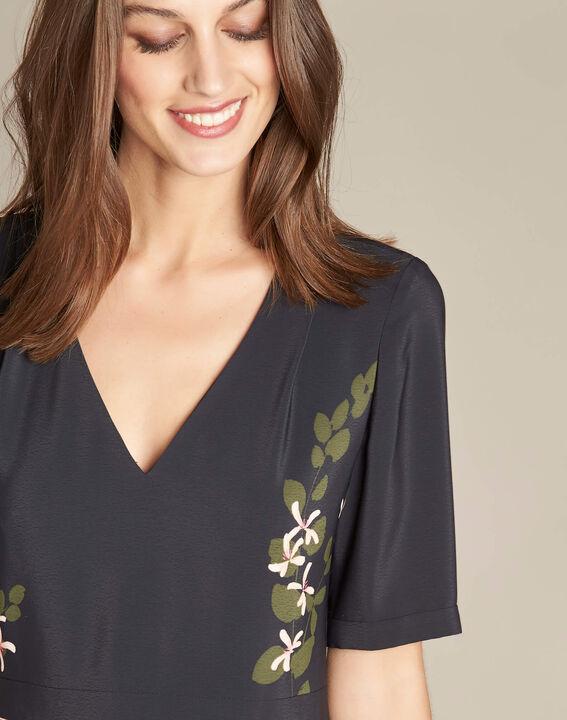Langes Kleid mit Blumenprint Piment PhotoZ | 1-2-3