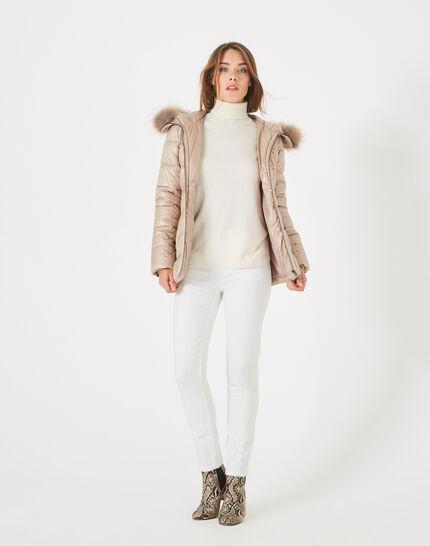 Lena short beige puffer jacket (1) - 1-2-3