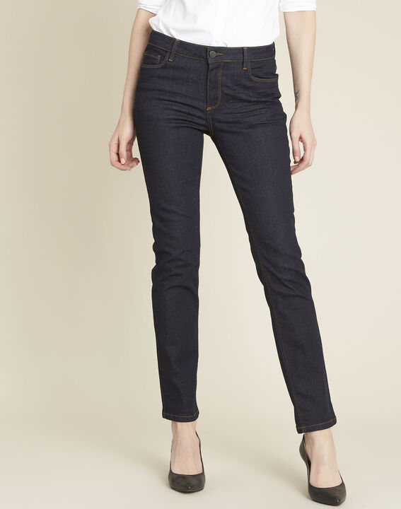 Marineblauwe straight-fit jeans Vivienne PhotoZ | 1-2-3