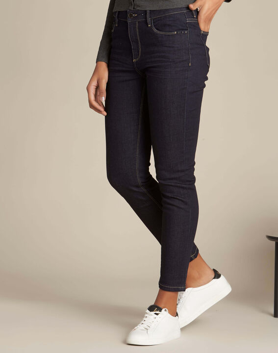 Vendôme navy blue slim-cut jeans (3) - 1-2-3