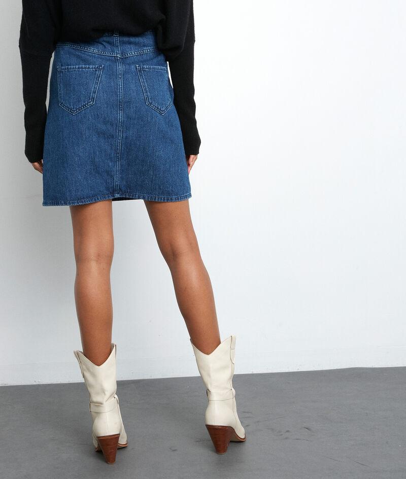 Mini-jupe en denim brut Francesca PhotoZ | 1-2-3