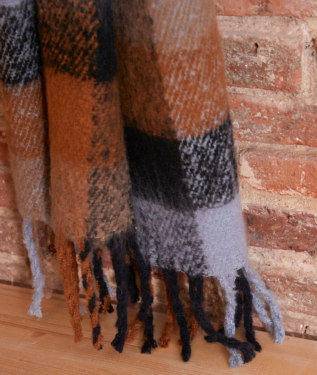 Echarpe épaisse à carreaux Haude PhotoZ   1-2-3