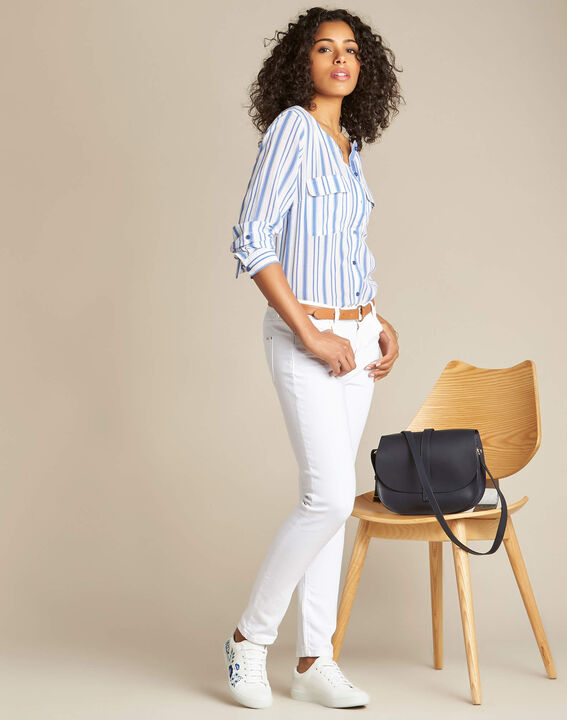 Weiße 7/8-Jeans Vendome (2) - 1-2-3