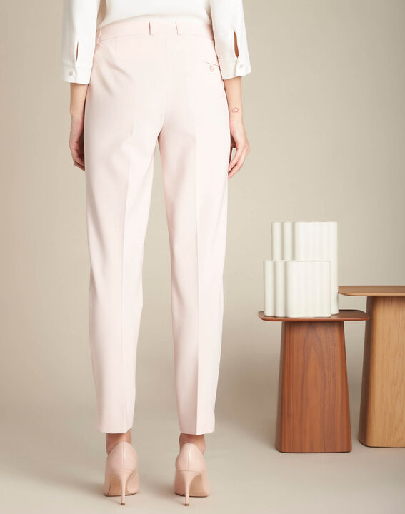 Valero tailored, pleated trousers in nude (4) - 1-2-3
