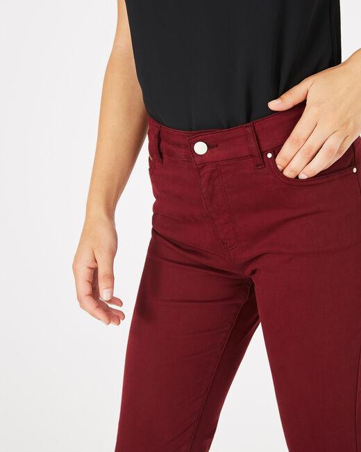 Pantalon slim bordeaux William (2) - 1-2-3