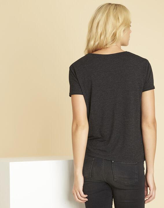 Garocky dark grey printed T-shirt (4) - 1-2-3
