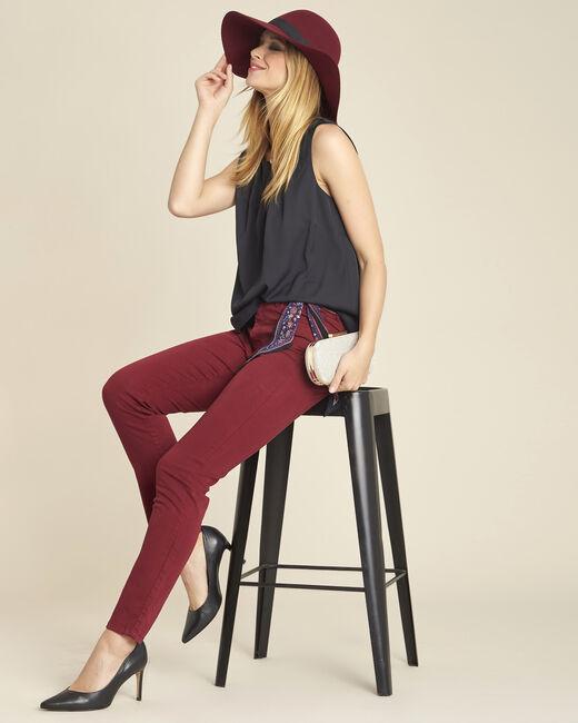 Fanette sleeveless black top (1) - 1-2-3