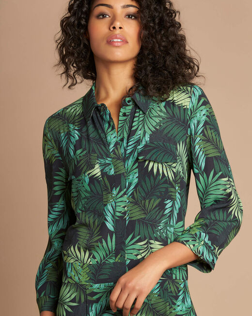 Pacome palm-printed jumpsuit (2) - 1-2-3