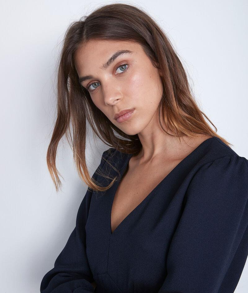 Kleid marineblau Trapezform Spirit PhotoZ | 1-2-3