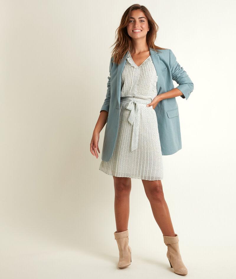 Veste longue en lin et coton Tamara PhotoZ | 1-2-3