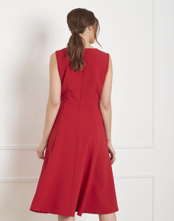 Rotes, ausgestelltes Kleid Hacena (4) - Maison 123