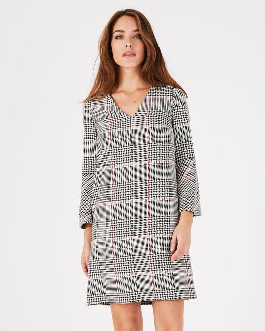 Airelle black check dress (1) - 1-2-3