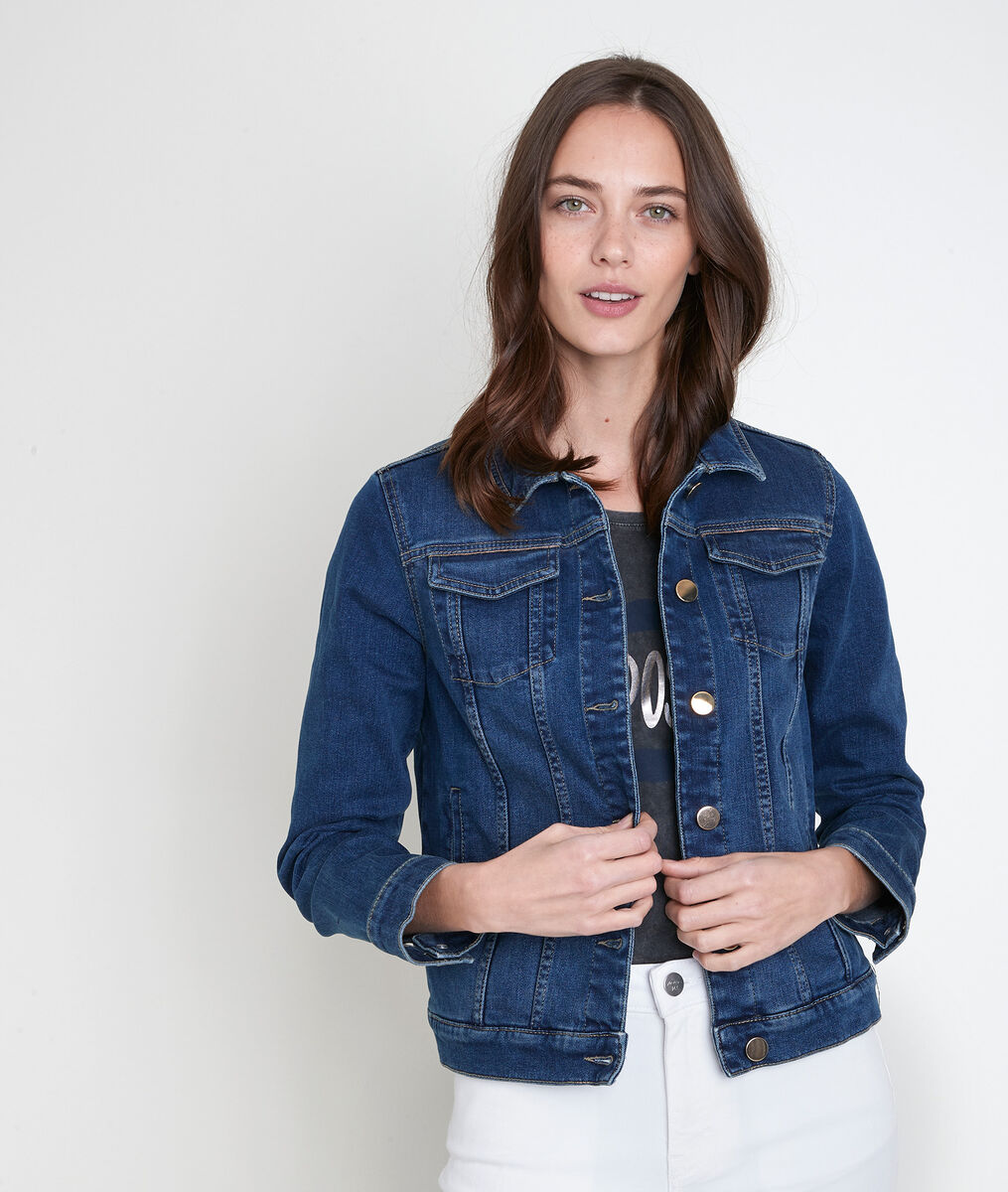 Veste en denim brut Palmyre PhotoZ | 1-2-3