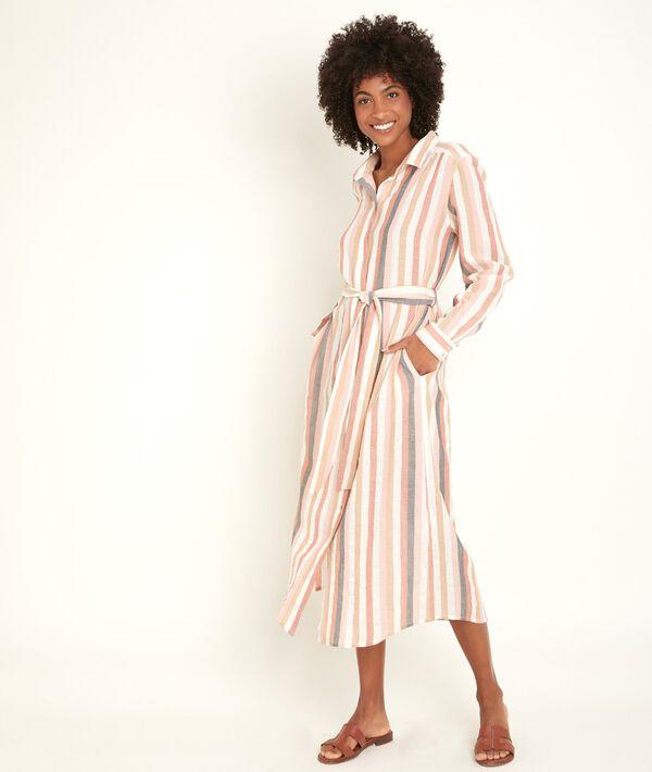 Robe longue rayée Nalia PhotoZ | 1-2-3