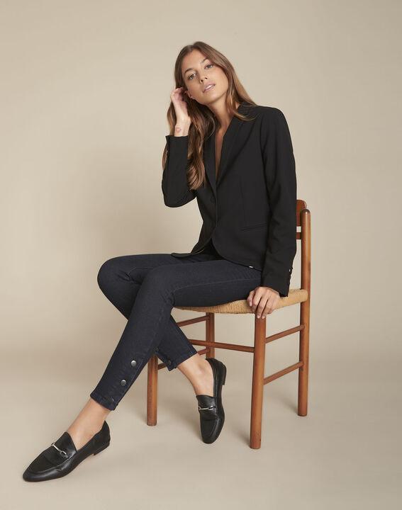 L'audacieux skinny : jean blue black Scoty PhotoZ | 1-2-3