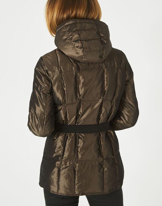 Livia bis mid-length khaki puffer jacket (3) - 1-2-3