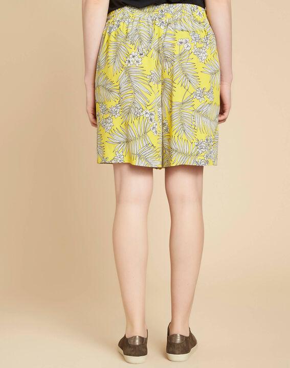 Salma yellow printed shorts (4) - 1-2-3