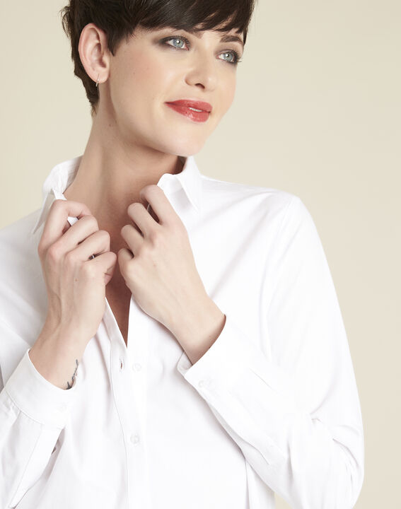 Ravel white poplin shirt (3) - 1-2-3