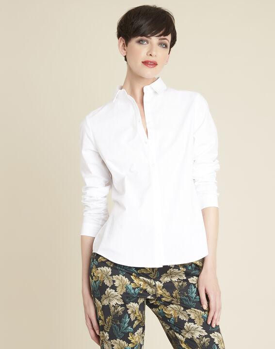 Chemise blanche en popeline ravel