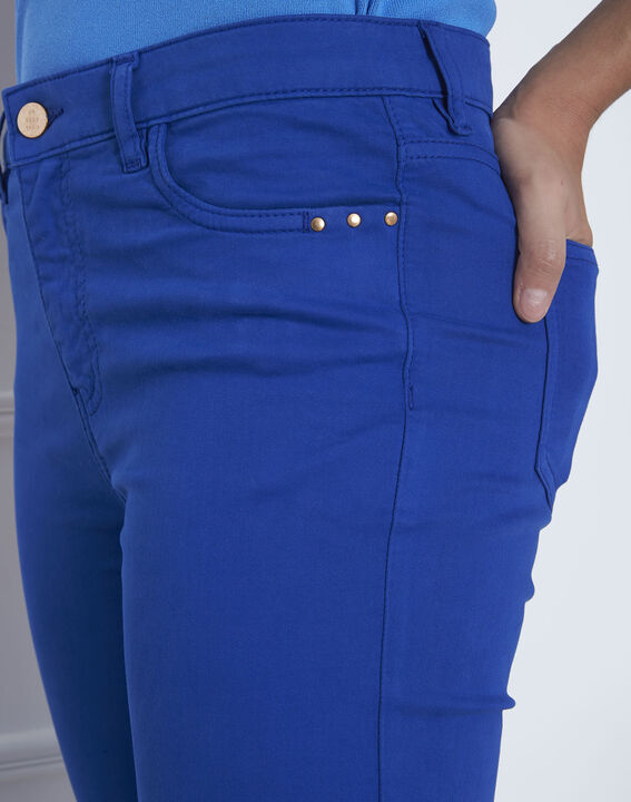Blaue Slim Jeans Vendome (4) - Maison 123
