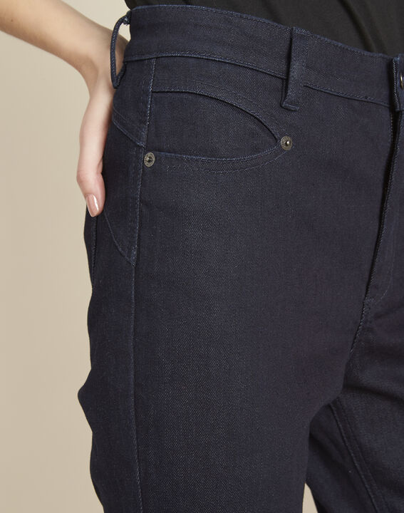 Honore raw-denim 7/8 length fitted jeans (3) - 1-2-3