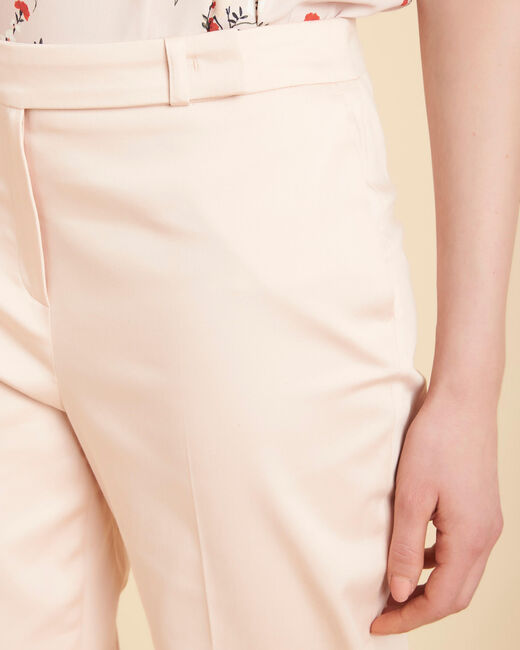 Rubis pale pink 7/8 length trousers (1) - 1-2-3