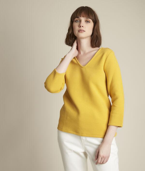 Top jaune brillant Regate PhotoZ | 1-2-3