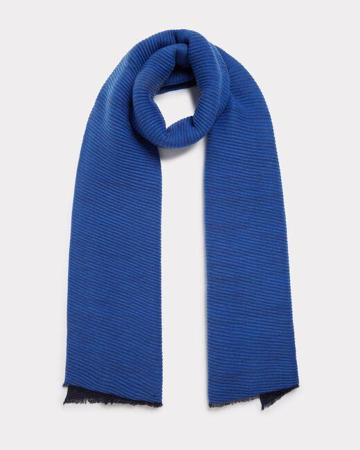 Echarpe bleu roi Elila (2) - 1-2-3