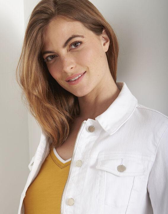 Veste en jean blanche Clem (4) - Maison 123