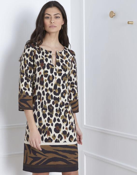 Robe imprimé animalier Livia (1) - Maison 123