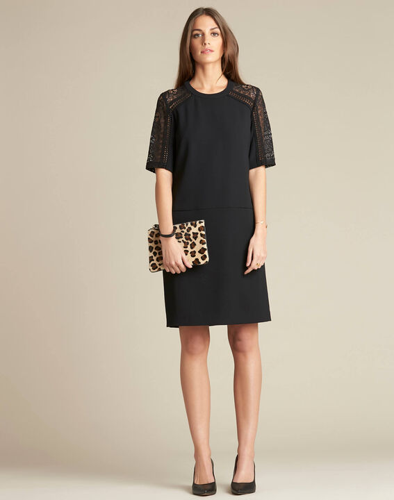 Droopy leopard print clutch with leather straps (3) - 1-2-3
