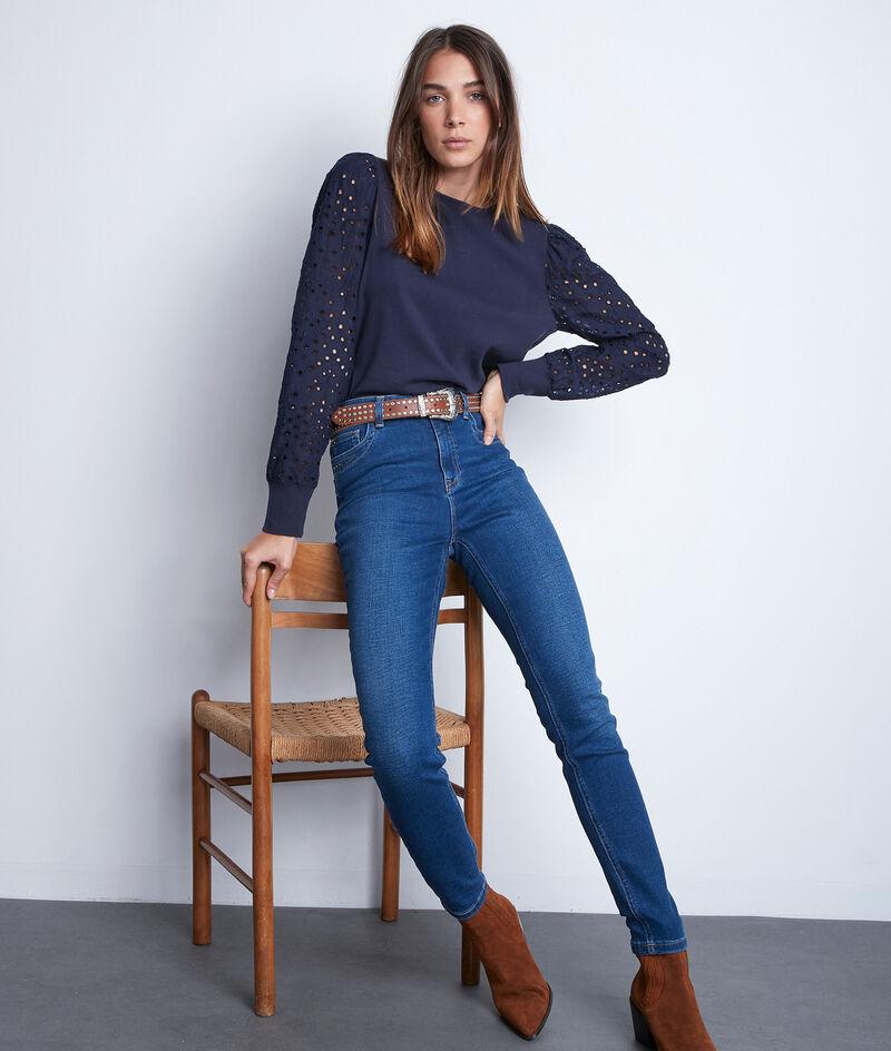 Die ikonische Raw Denim Slim Jeans Suzy PhotoZ | 1-2-3