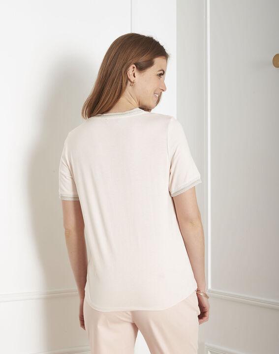Tee-shirt poudre détails ruban Proove (3) - Maison 123
