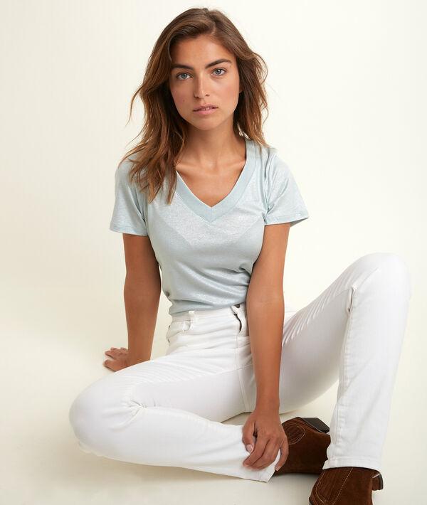 Tee-shirt brillant lavande Ronie PhotoZ | 1-2-3