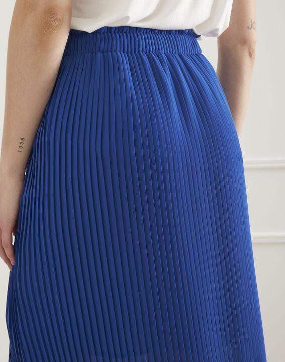 Jupe bleue plissée Sofia (4) - Maison 123