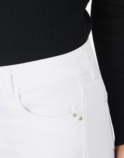 Oliver 7/8 white trousers (5) - 1-2-3