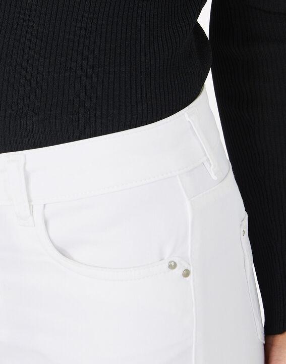 Pantalon blanc 7/8ème Oliver (5) - 1-2-3