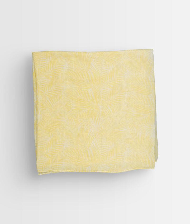 Foulard imprimé jaune Paya PhotoZ   1-2-3