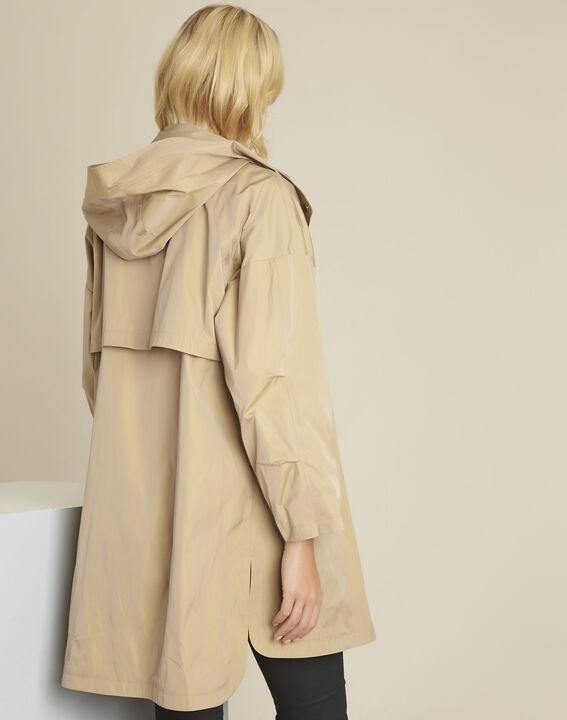 Emilie camel hooded parka (4) - 1-2-3