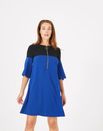 Alexia two-tone dress (1) - 1-2-3