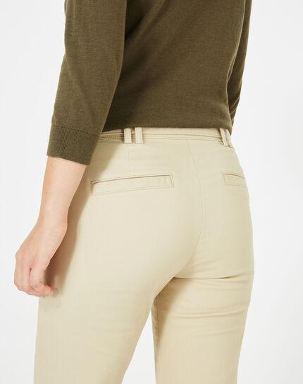 Kloe camel 7/8 length trousers (4) - 1-2-3