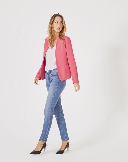 Veste de tailleur rose Bea (1) - 1-2-3