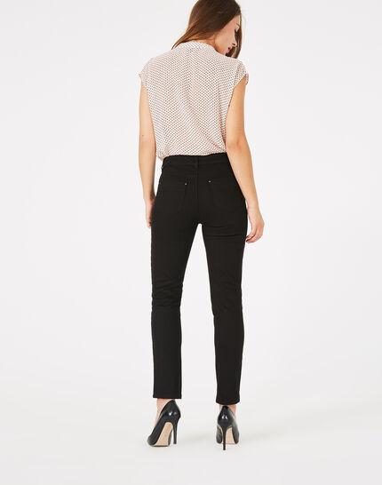Oliver 7/8th length black jeans (4) - 1-2-3
