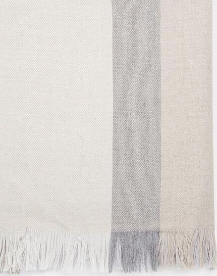Ella marl grey scarf in a wool blend PhotoZ | 1-2-3