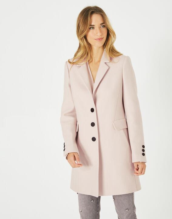 Manteau poudre en laine mélangée Plume PhotoZ | 1-2-3