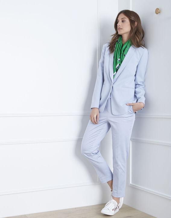Pantalon bleu ciel cigarette Rubis (2) - Maison 123