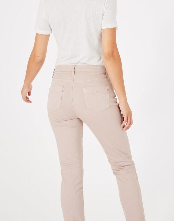 Pantalon slim rose pâle William (5) - 1-2-3