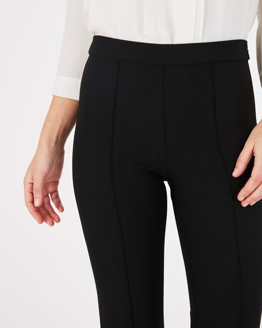 Pantalon de tailleur noir fuselé Vitamine (2) - 1-2-3