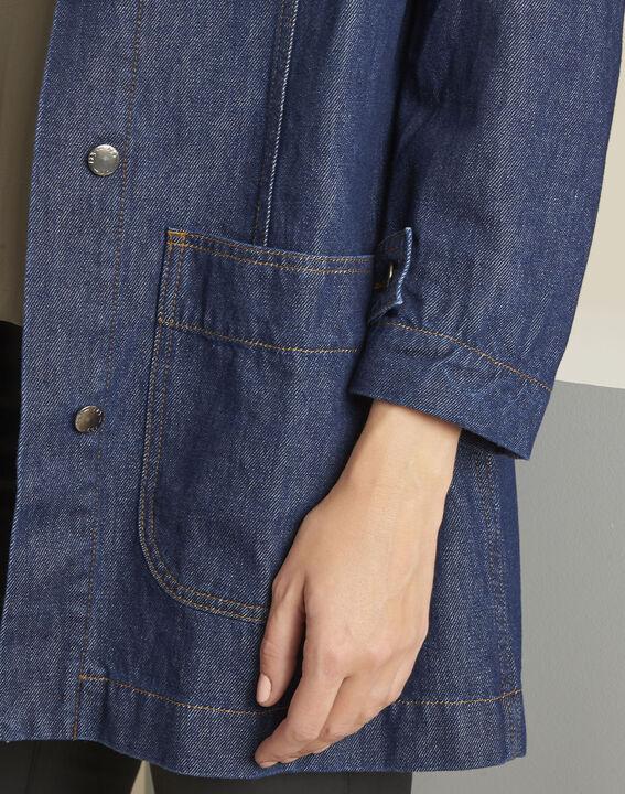 Manteau en jean gros grain Sultan (4) - Maison 123