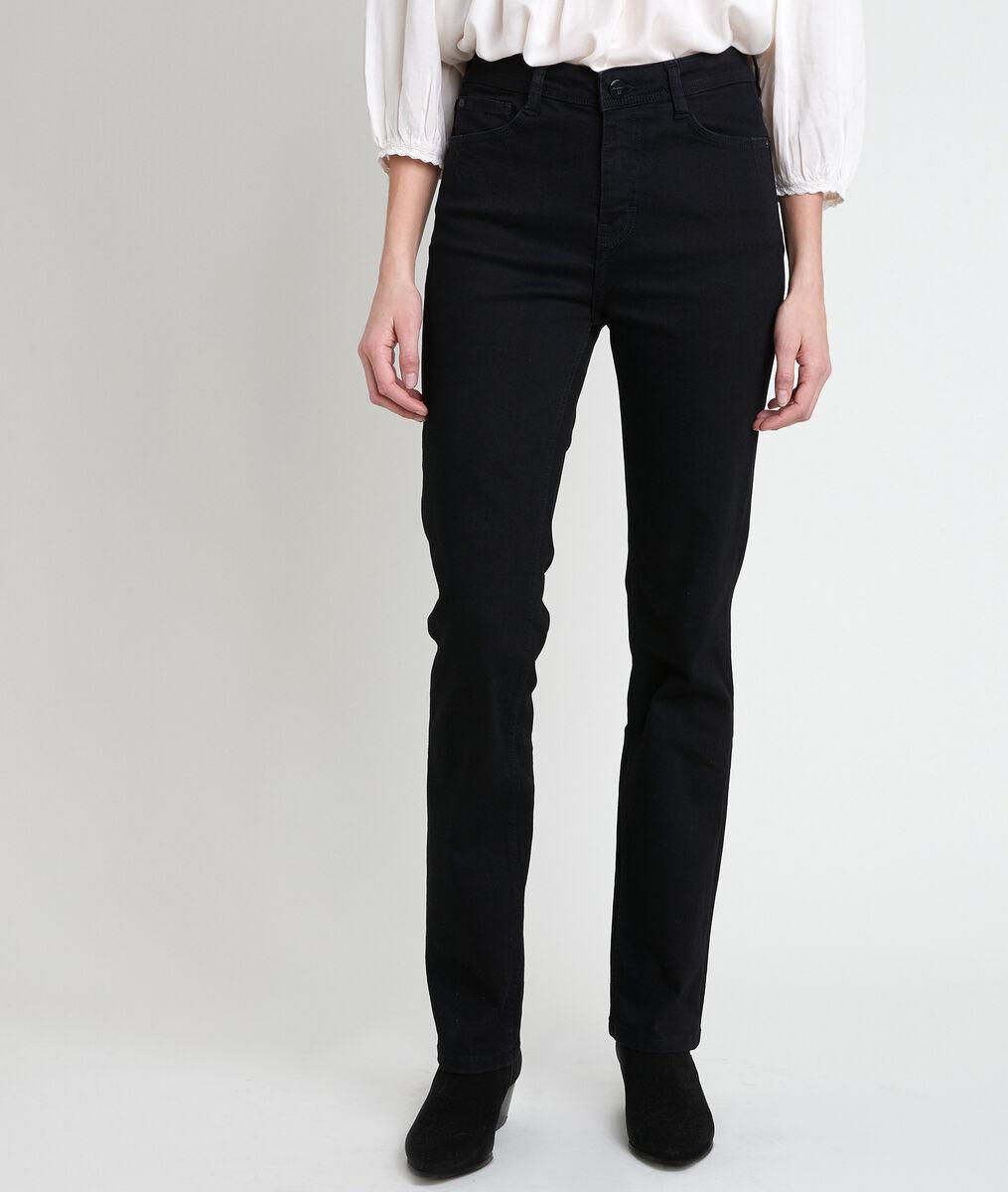 L'original 123 jean droit noir Sonia PhotoZ | 1-2-3